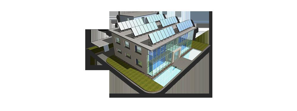 Niedrigenergie-Häuser PLUS