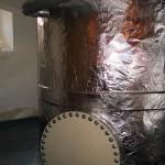 Akumulační nádrž na termominerální vodu 5 000 litrů