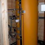 Kompaktní jednotka tepelného čerpadla s akumulační nádrží PAST600