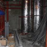 Rekuperátor tepla a PAST® v hotelu Prezident ve výstavbě.