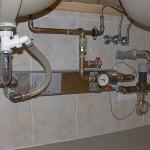 Výměník tepla pro chlazení termoninerální vody na zubní irigace