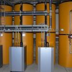 Tepelné čerpadlo PZP voda/voda s odděleným kondenzátorem v nádrži PAST