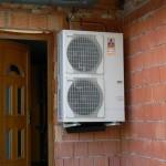 tepelné čerpadlo Mitsubishi Zubadan 11,2 kW